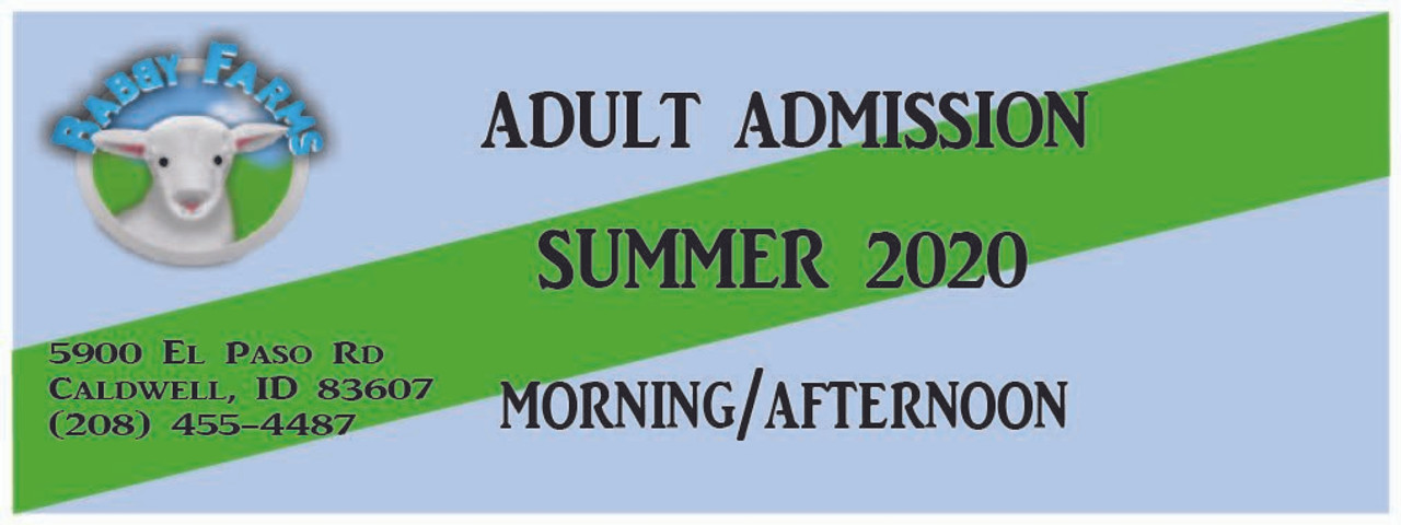 (June) General Adult Admission