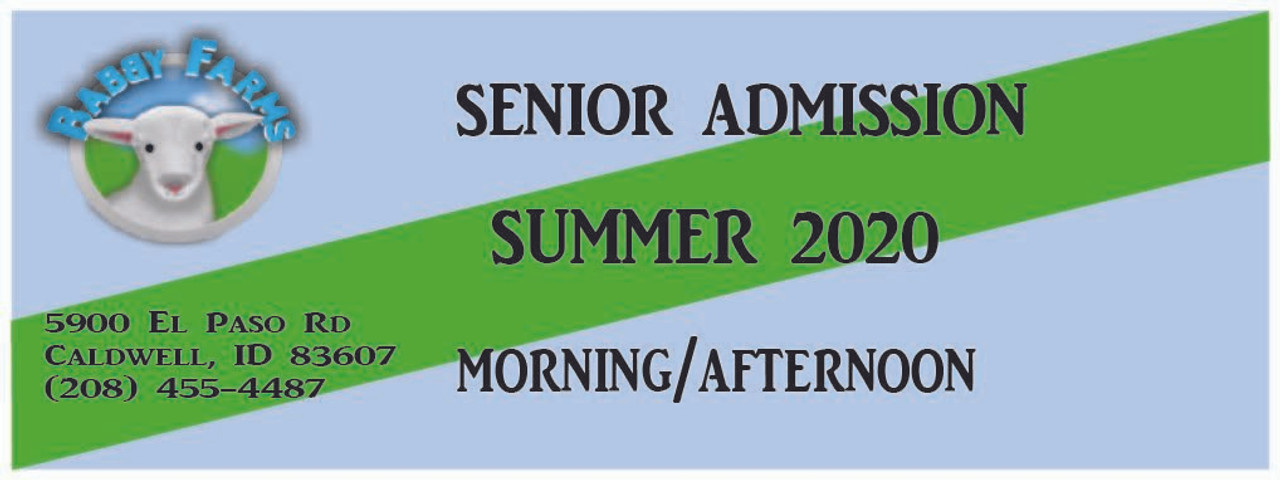 (June) General Senior Admission