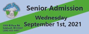 Babby Farms regular senior admission 9/1/2021