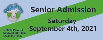 Babby Farms regular senior admission 9/4/2021