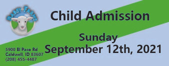 Babby Farms regular child admission 9/12/2021