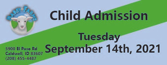 Babby Farms regular child admission 9/14/2021