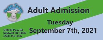 Babby Farms regular adult admission 9/7/2021