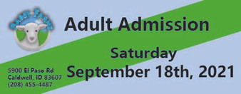 Babby Farms regular adult admission 9/18/2021