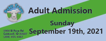 Babby Farms regular adult admission 9/19/2021