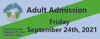 Babby Farms regular adult admission 9/24/2021