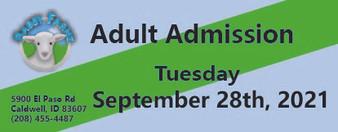 Babby Farms regular adult admission 9/28/2021