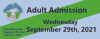 Babby Farms regular adult admission 9/29/2021