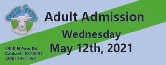Babby Farms regular adult admission 5/12/2021