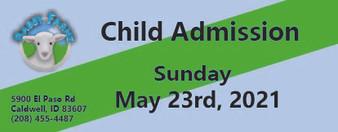 Babby Farms regular child admission 5/23/2021
