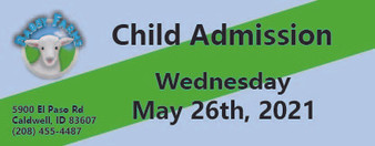 Babby Farms regular child admission 5/26/2021