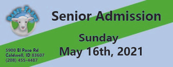 Babby Farms regular senior admission 5/16/2021