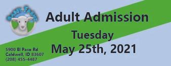 Babby Farms regular adult admission 5/25/2021