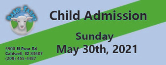 Babby Farms regular child admission 5/30/2021