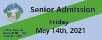Babby Farms regular senior admission 5/14/2021