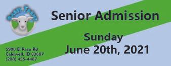 Babby Farms regular senior admission 6/20/2021