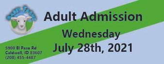 Babby Farms regular adult admission 7/28/2021