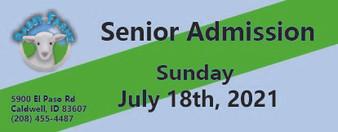 Babby Farms regular senior admission 7/18/2021