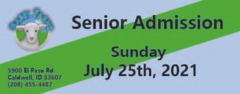 Babby Farms regular senior admission 7/25/2021