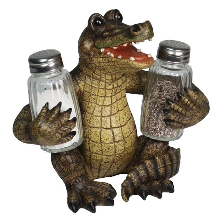 Salt & Pepper Shaker Set -Alligator