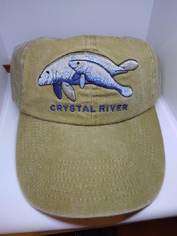 "Crystal River Manatee  ""Dad Hat"""
