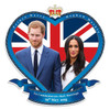 Prince Harry and Meghan Markle Royal Wedding Wall Mounted Cardboard Cutout
