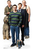Friday Night Dinner Group Official Cardboard Cutout