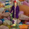 Gene Wilder as Willy Wonka Lifesize and Mini Cardboard Cutouts