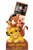 Lion King Disney Personalised Photo and Name Cardboard Cutout Example 3
