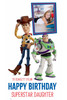 Toy Story Disney Personalised Photo and Name Cardboard Cutout Example 1