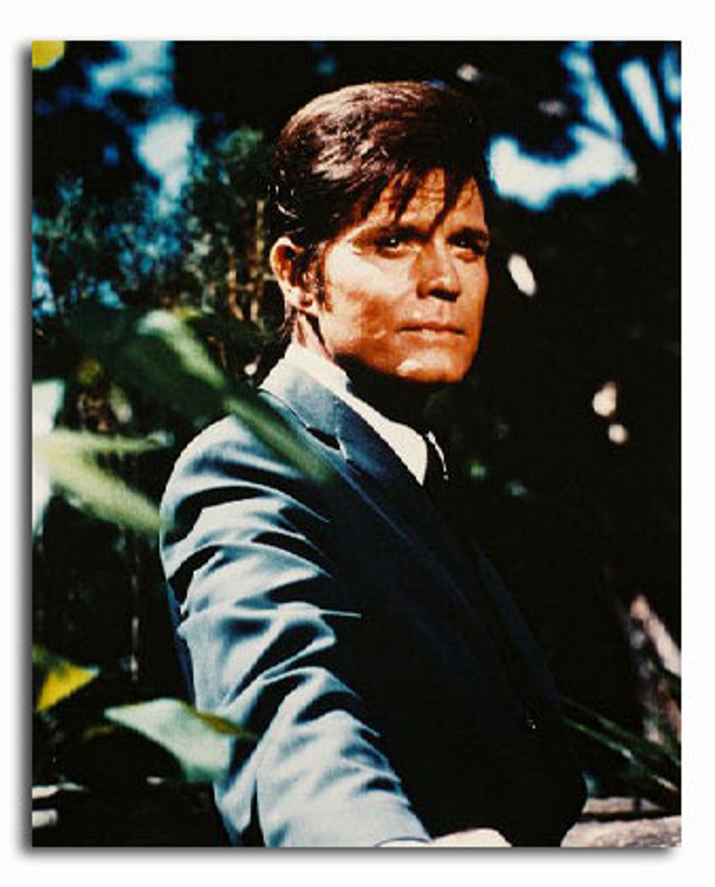 Jack Lord Desktop Frame Hawaii 5 0 Autograph Replica Print Portrait