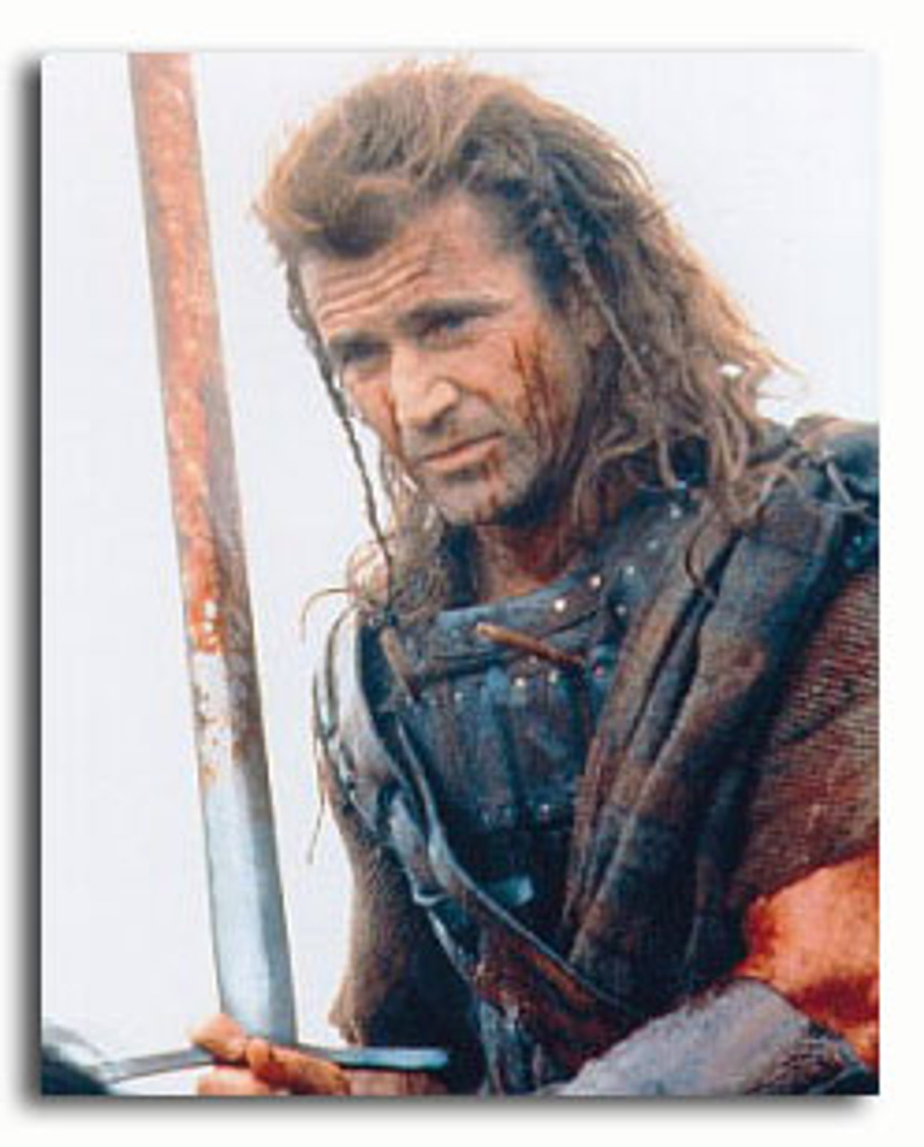 BRAVE HEART Mel Gibson Canvas Framed Print Wall Art ~ More Size