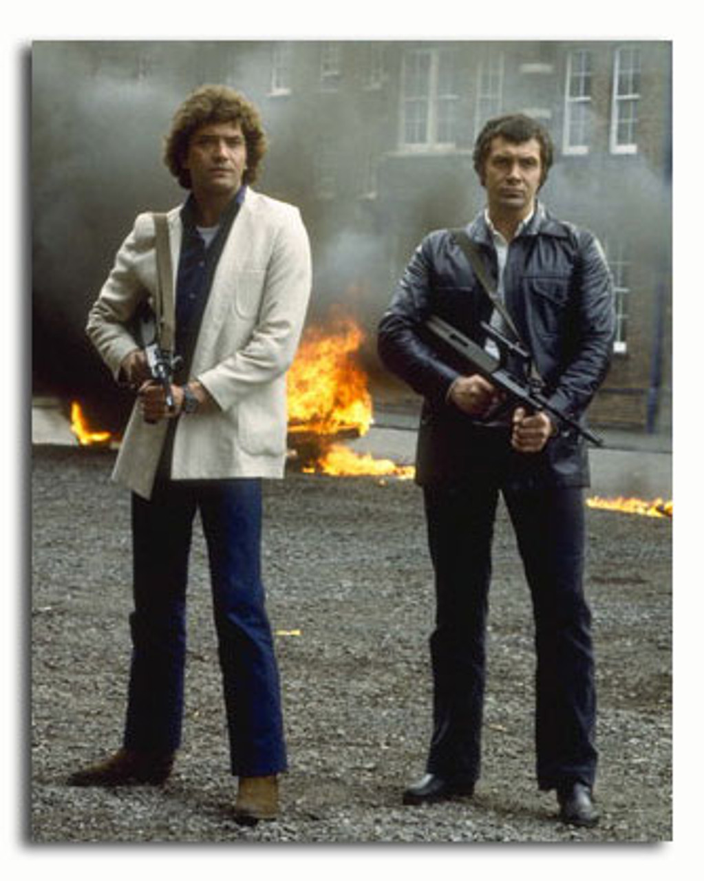The Professionals T Shirt Bodie /& Doyle Lewis Collins /& Martin Shaw