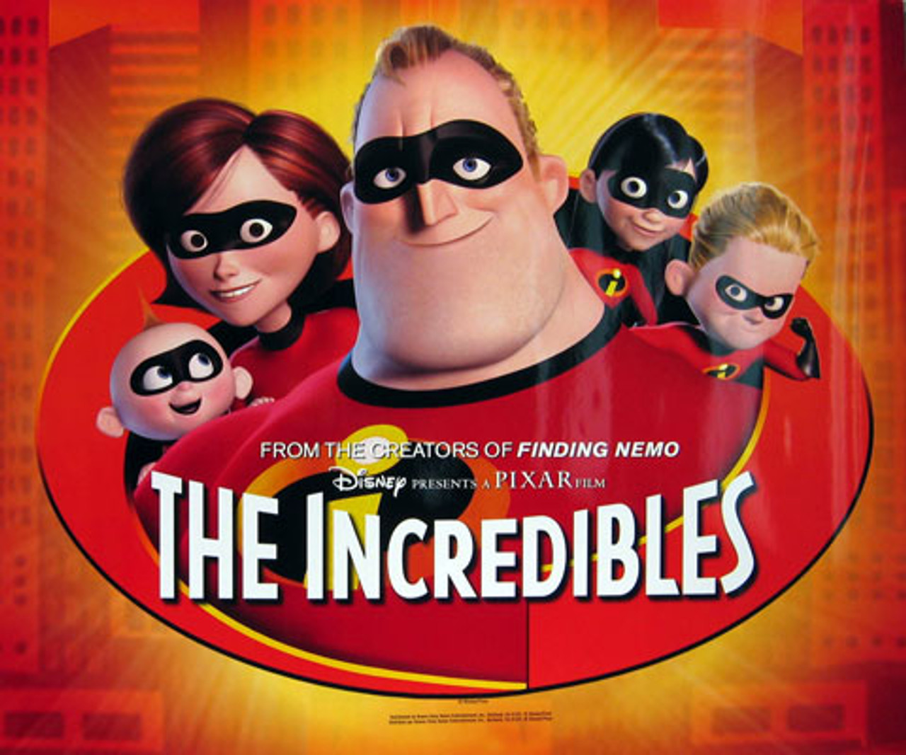 THE INCREDIBLES (Single Sided Glossy Mini Poster) POSTER buy movie ...