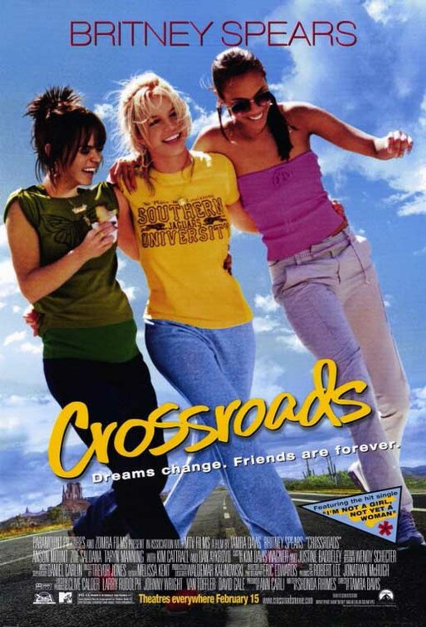 """Crossroads"" movie poster, one of our favorite movies that explores female relationships!"