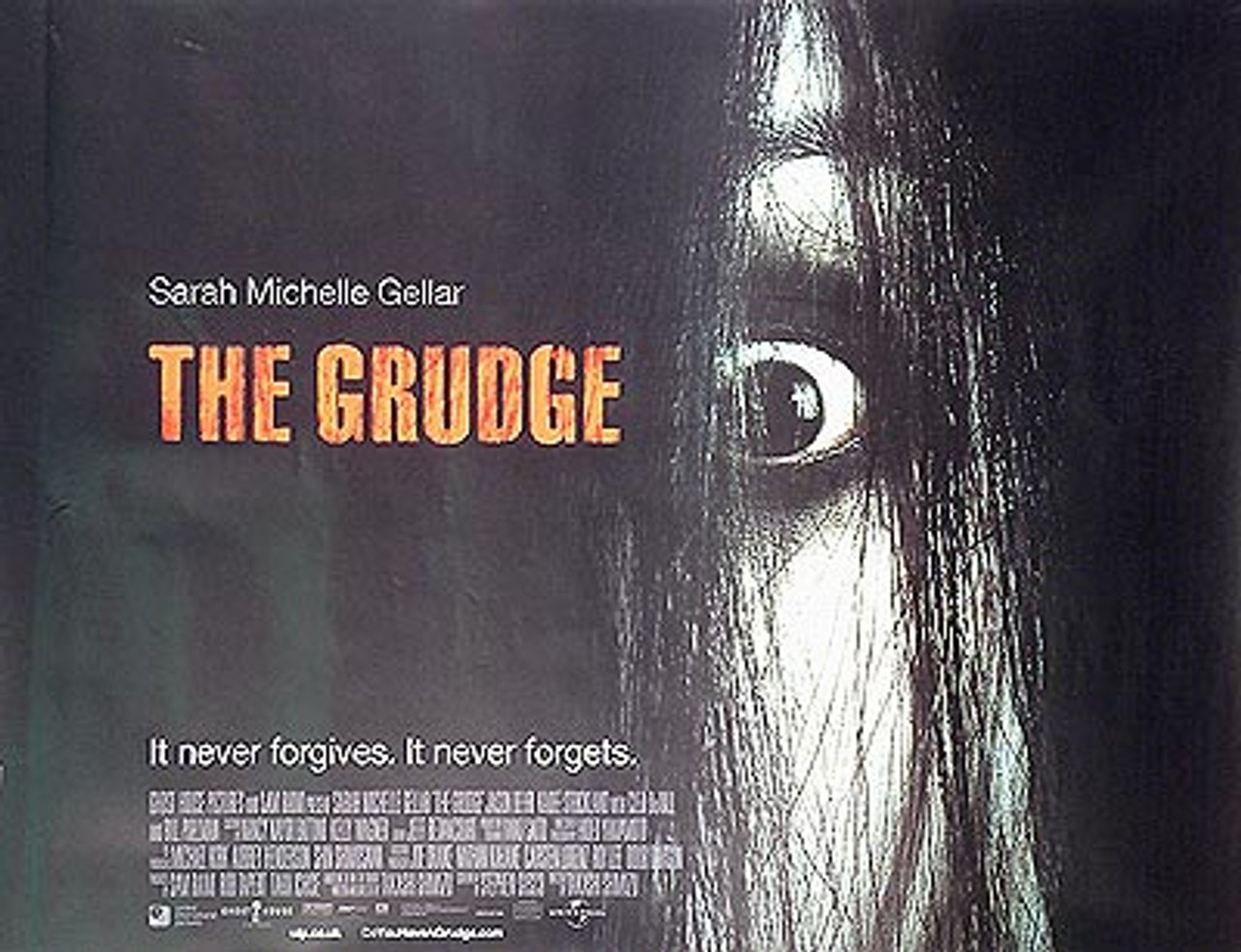 THE GRUDGE (DOUBLE SIDED) POSTER buy movie posters at Starstills ...