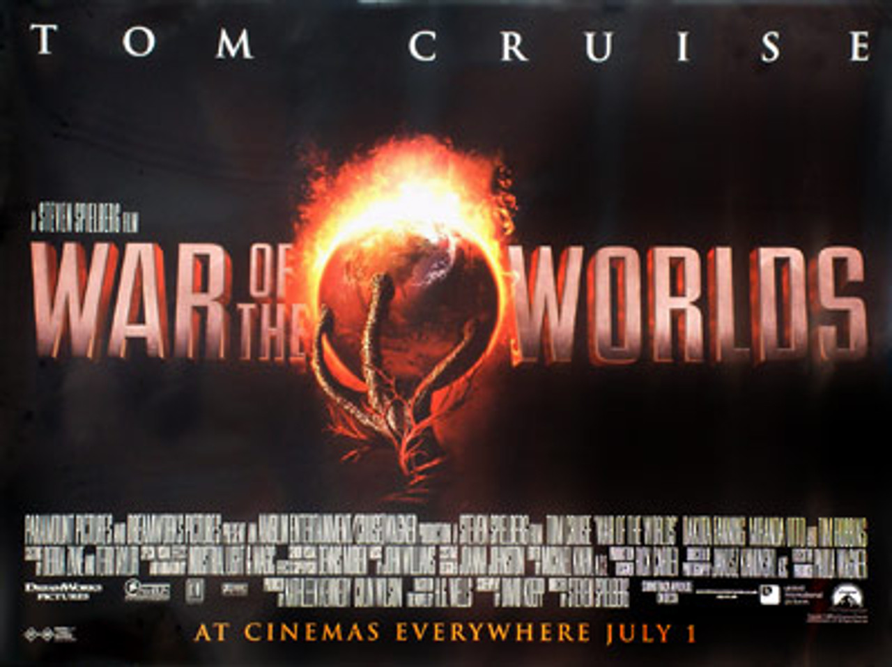 WAR OF THE WORLDS (SINGLE SIDED) POSTER buy movie posters at ...