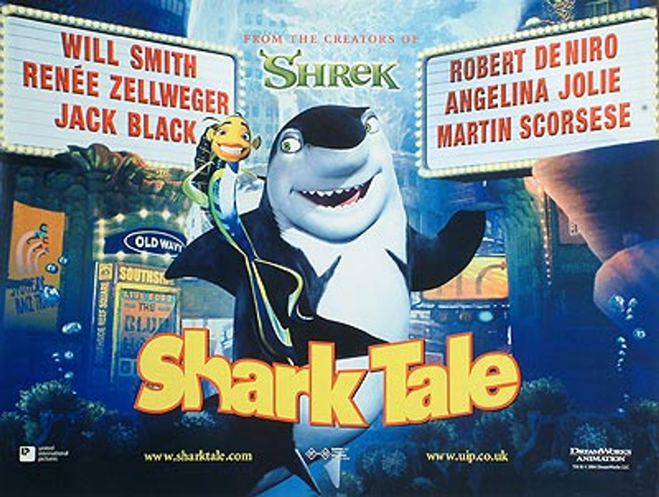 SHARK TALE (Regular) POSTER buy movie posters at Starstills.com ...