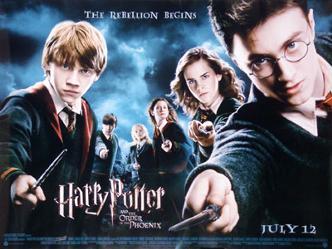 HARRY POTTER AND THE ORDER OF THE PHOENIX MOVIE POSTER REGULAR STYLE
