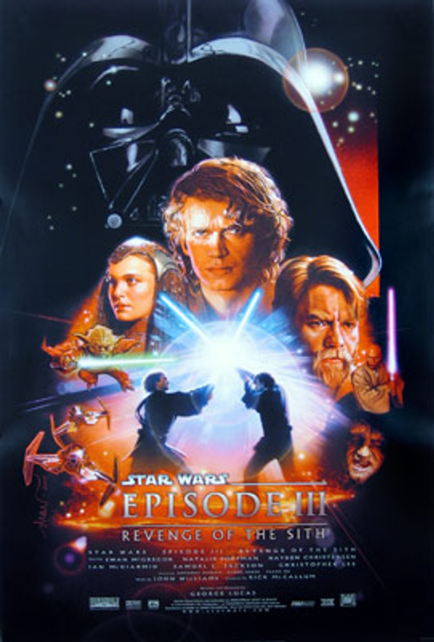 Star Wars Episode 3 Revenge Of The Sith Ds Reg A Poster Buy Movie Posters At Starstills Com Ssb1117 503942