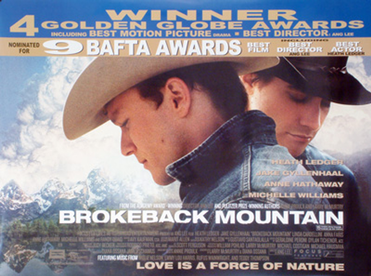 BROKEBACK MOUNTAIN POSTER buy movie posters at Starstills.com ...