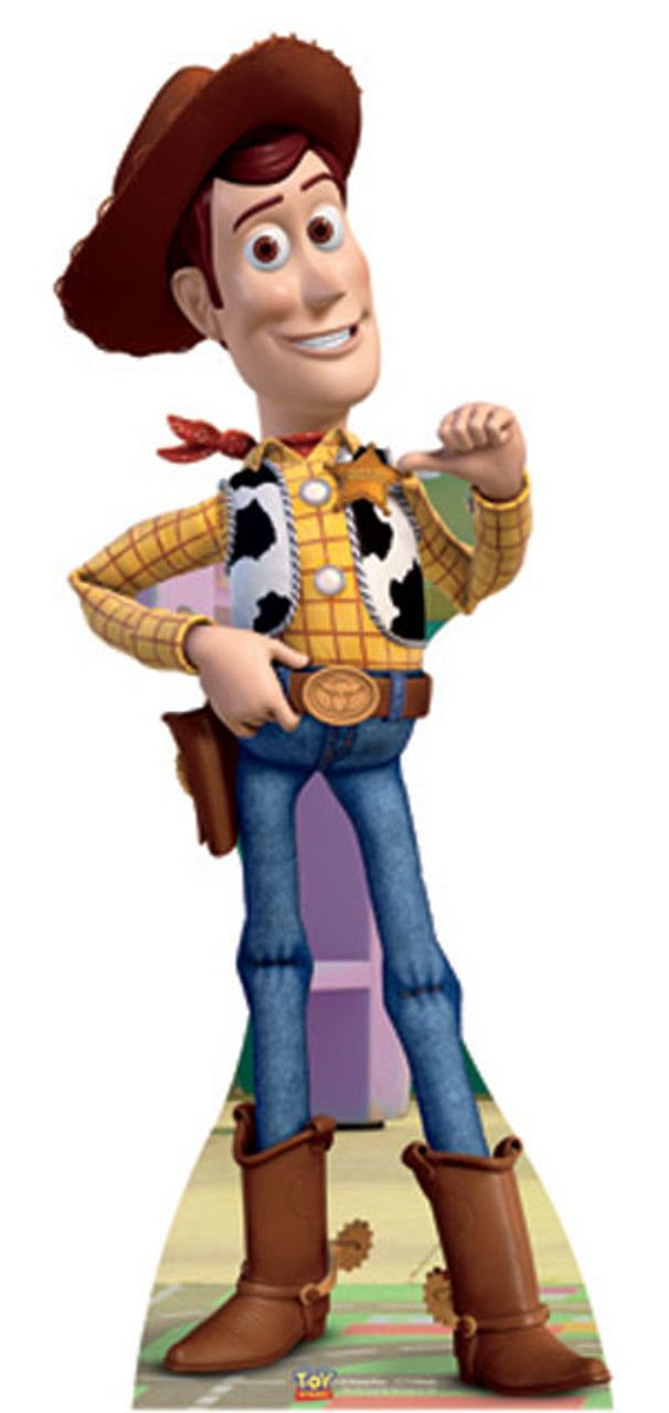 Lifesize Cardboard Cutout of Woody (Toy Story) buy cutouts at ... 1fb6b303bff