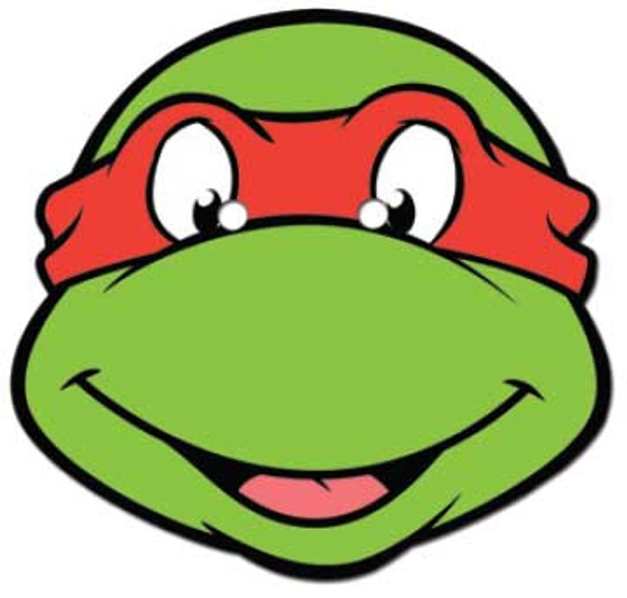 Raphael Teenage Mutant Ninja Turtles Face Mask (SSF0011) buy Star Face  Masks at Starstills.com
