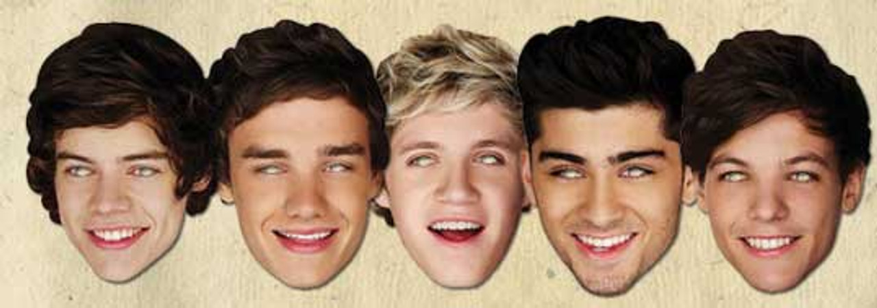 Louis Tomlinson Celebrity Singer Card Face Mask All Pre-Cut One Direction