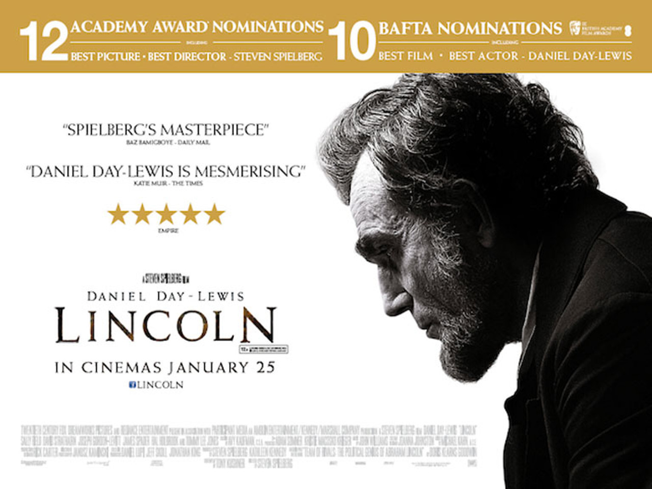 LINCOLN Poster double sided REGULAR Quad (SS4420-B2046) buy ...