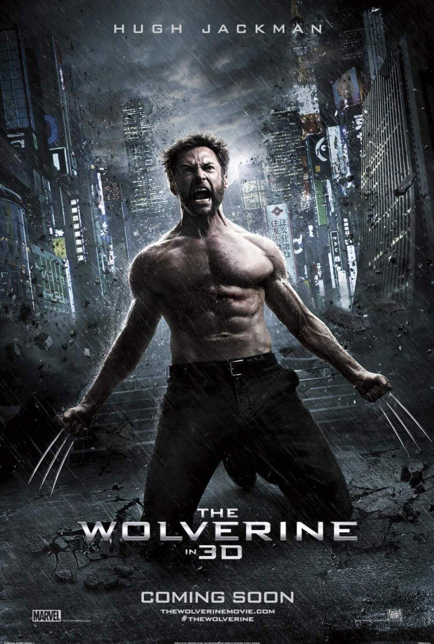 THE WOLVERINE Poster double sided ADVANCE Style C - Rare (SS5473 ...