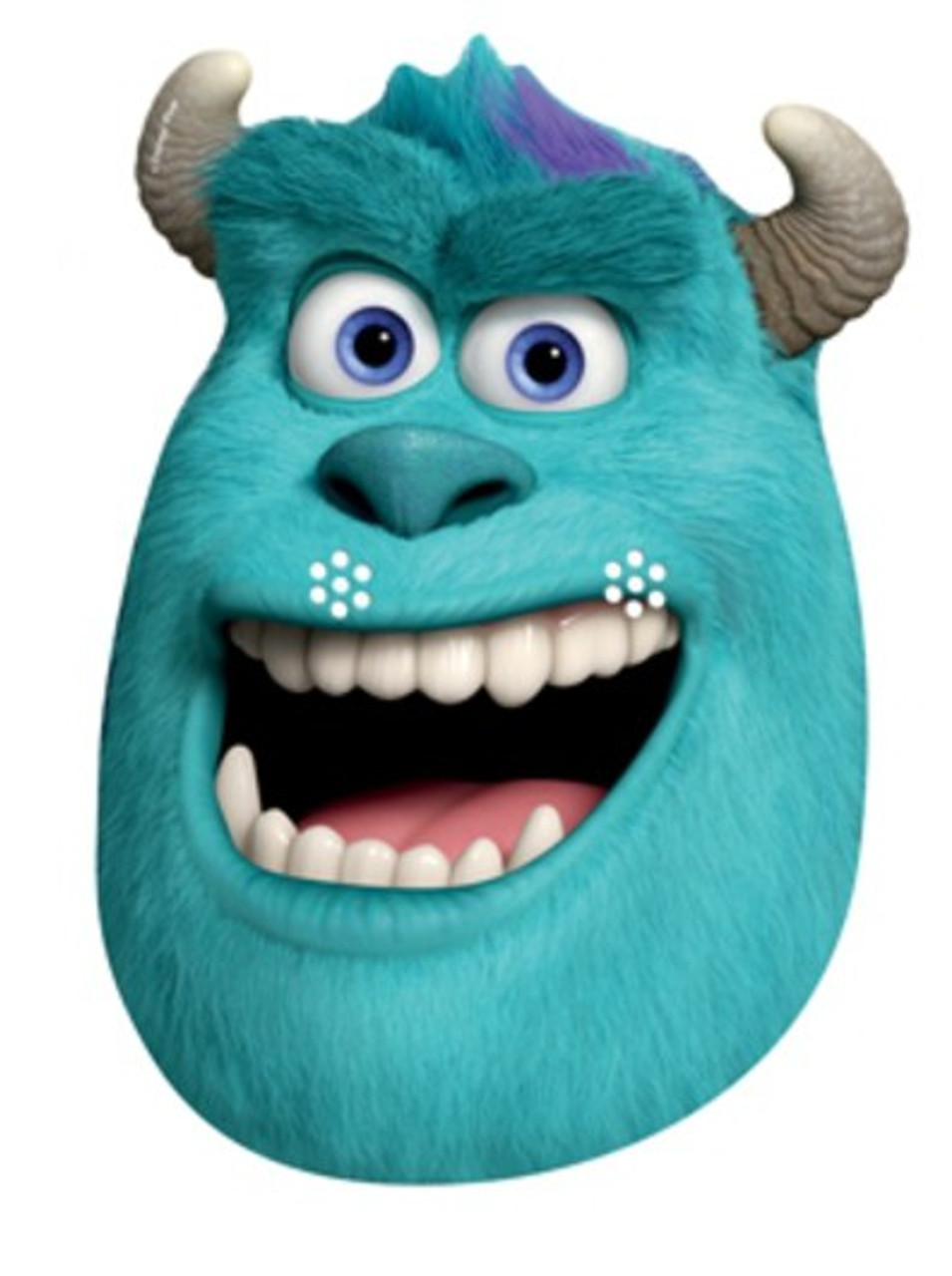 Sulley Party Face Mask Monsters University Available Now At Starstills Com