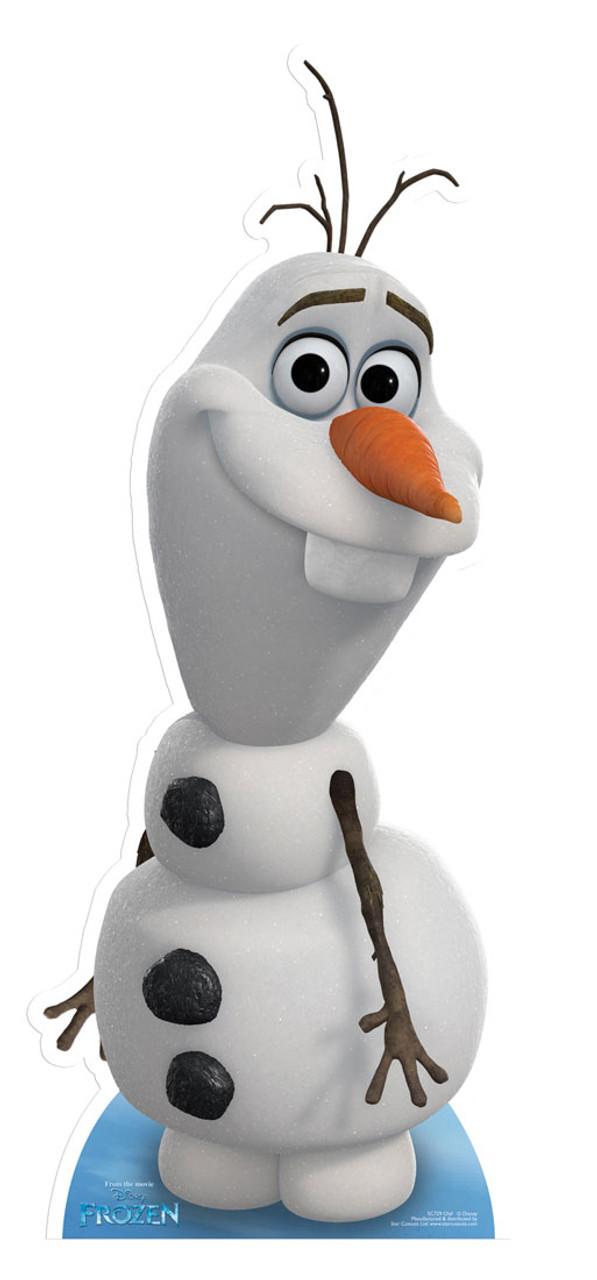 f9bc89d8c65e0 Olaf from Frozen Cardboard Cutout. Buy Disney Frozen standups ...