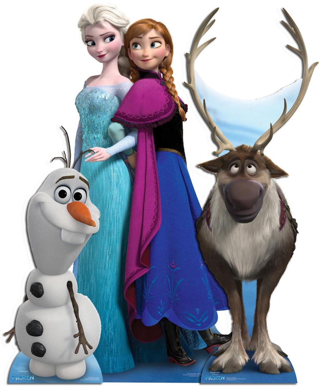 6c10a63f7c3ec Frozen Cardboard Cutout Collection. Buy Disney Frozen standups ...
