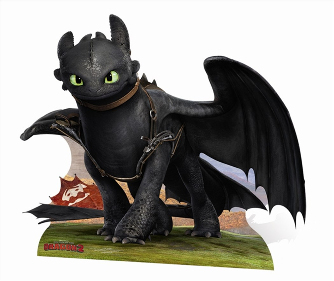 Toothless From How To Train Your Dragon 2 Cardboard Cutout Standee Standup